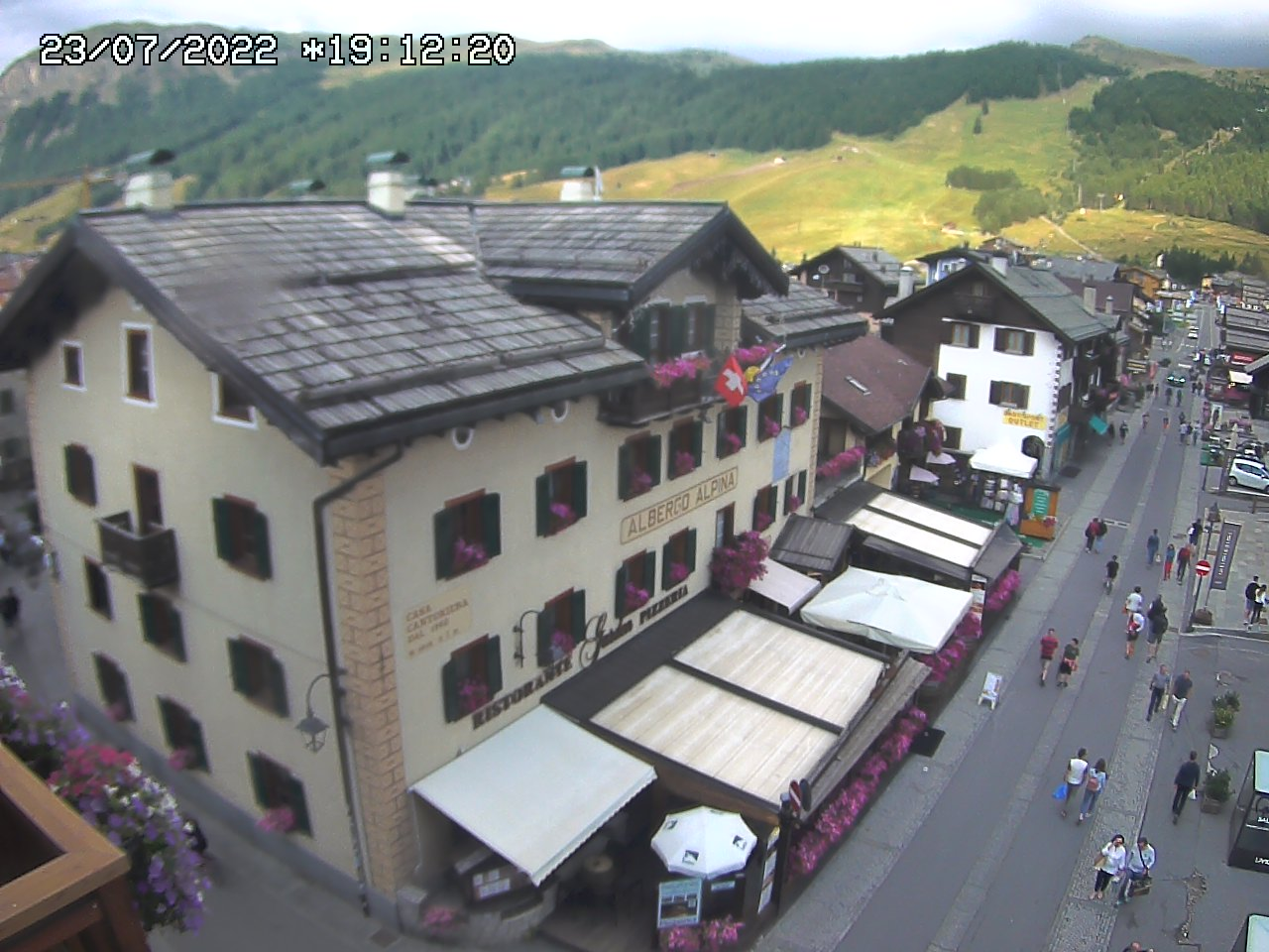 webcam Alpina hotel